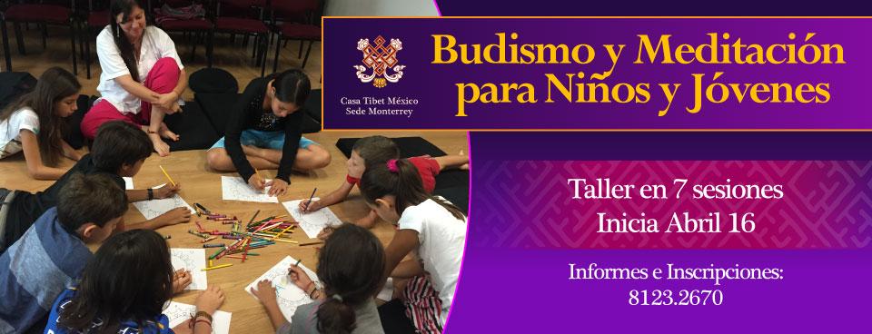 budismo y meditación para niños y jóvenes