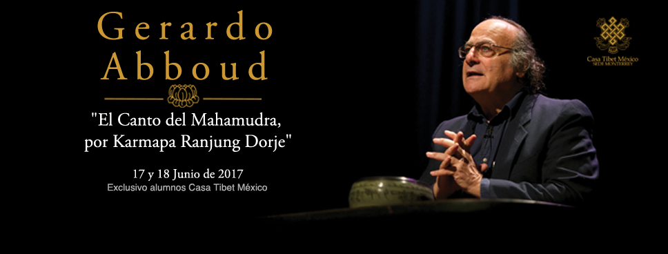 Gerardo Abboud seminario mahamudra