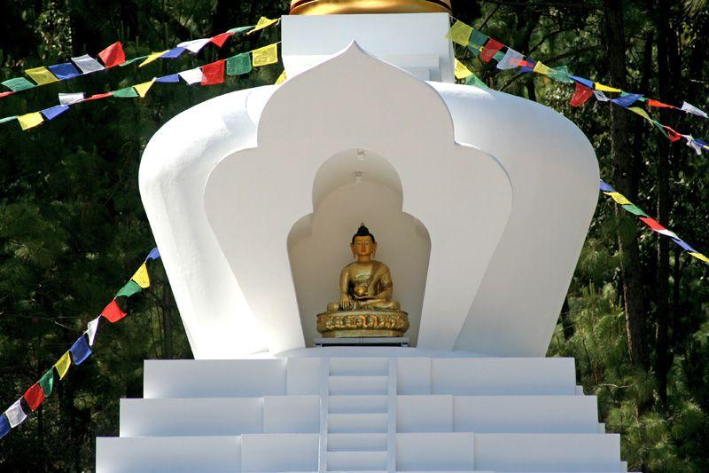 Stupa Buen Corazón