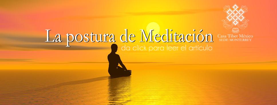 Postura meditación Monterrey
