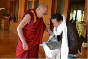 dalai lama tenzin rigdol - Casa Tibet Monterrey