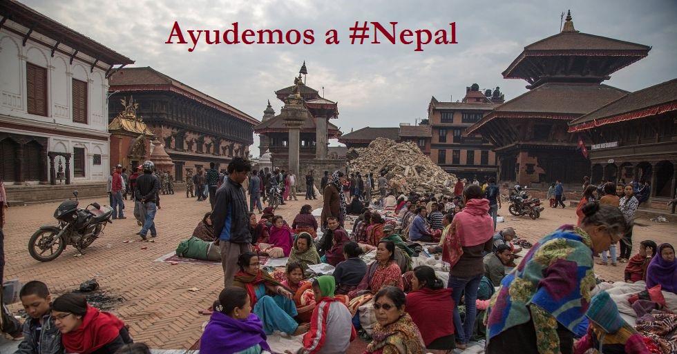 ayuda a #Nepal