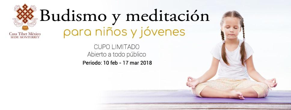 Budismo para niños y jovenes Monterrey