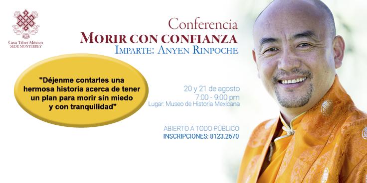 conferencia Anyen Rinpoche