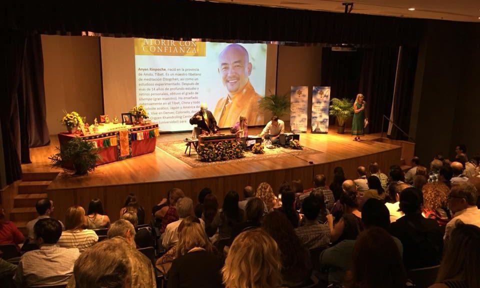 Anyen Rinpoche en museo de historia mexicana monterrey