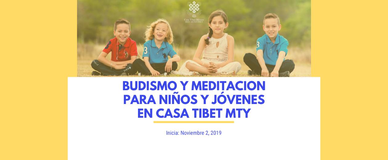 Budismo y Meditacion para niños y jovenes