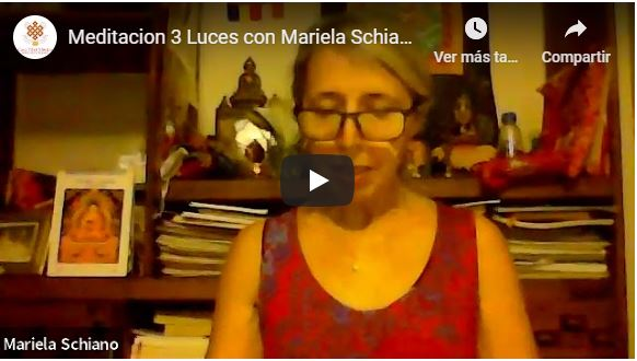 meditacion 3 luces video