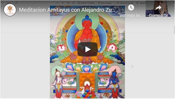 meditacion amitayus