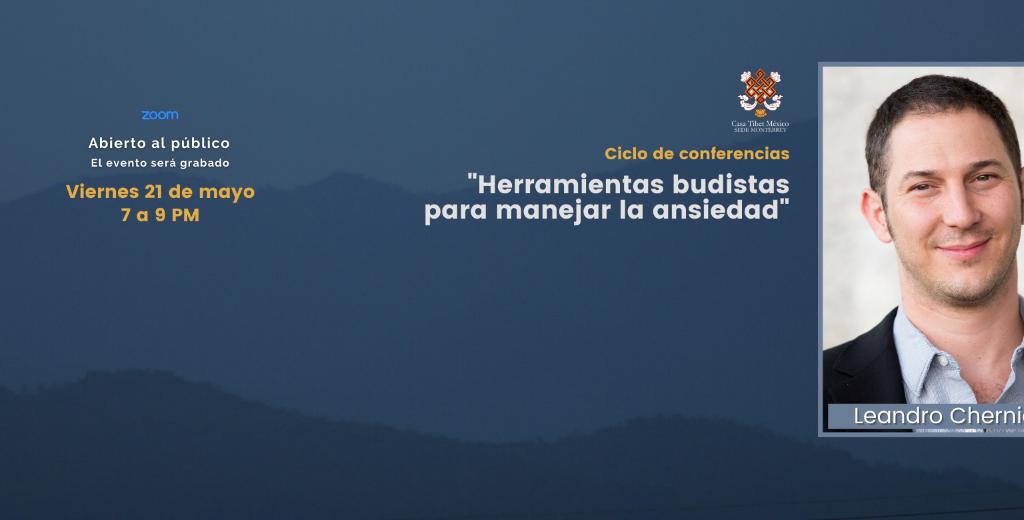 Leandro Chernicoff herramientas budistas